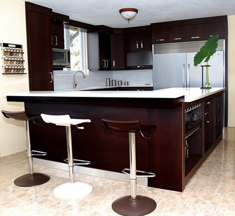 L Shape Kitchen Design Part 86